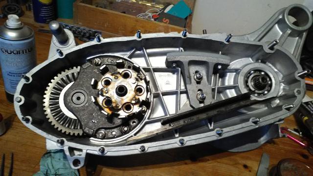 engine resto LI150 : Lambretta Forum : Two Stroke Smoke
