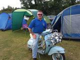 1966 Vespa VBC Super 150 Blue Mark K