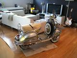1957 Vespa GS 150 SILVER Mark P